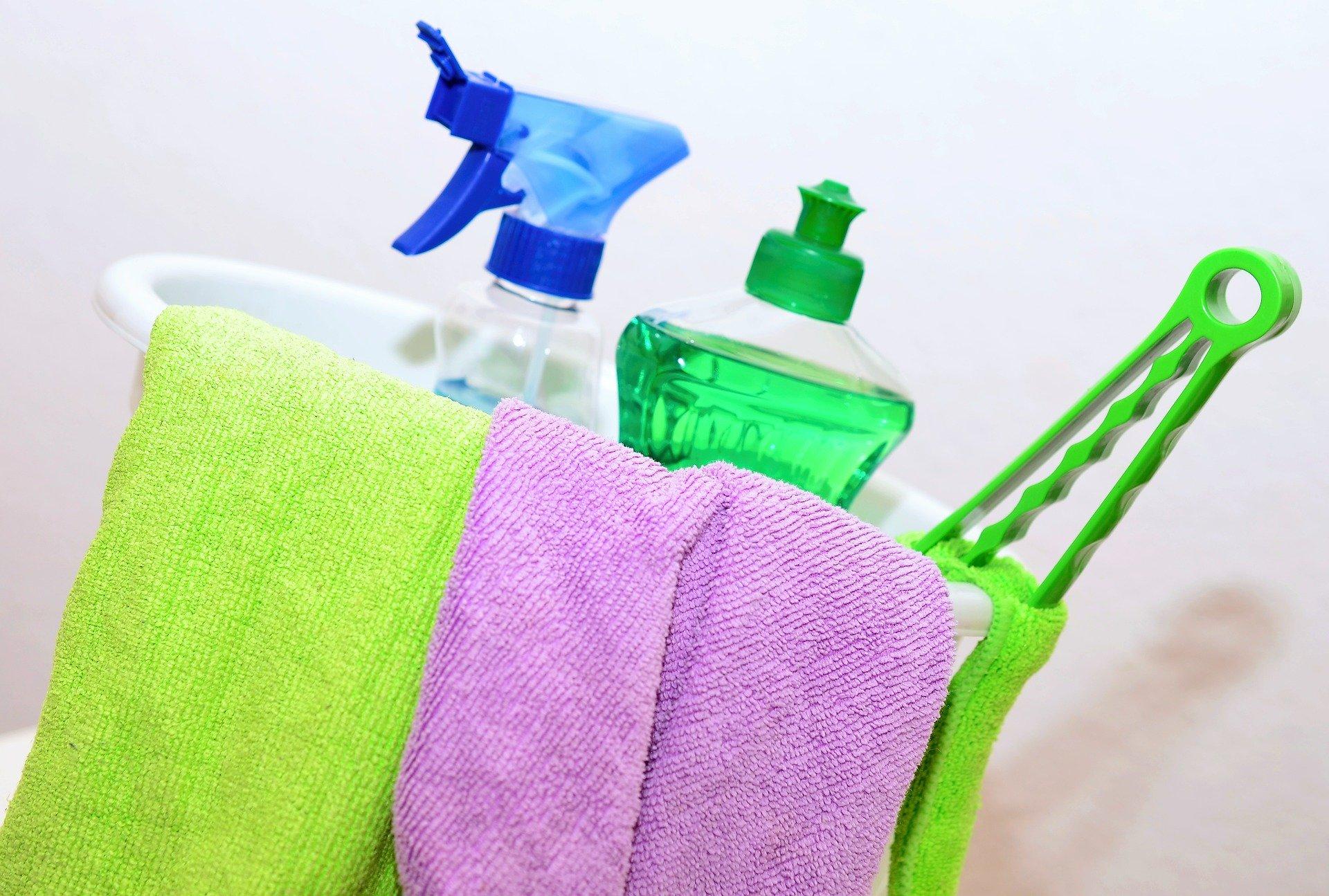 limpieza del hogar en casas y mantenimiento
